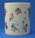 マグカップ「博多の祭り」陶器