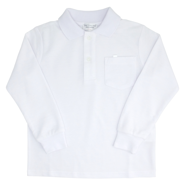 小学生制服 鹿の子 長袖ポロシャツ