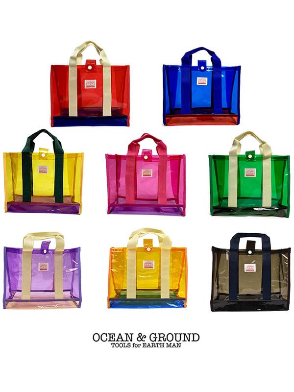 OCEAN&GROUND|オーシャンアンドグラウンド プールバッグ 角型 OAHU(8色)