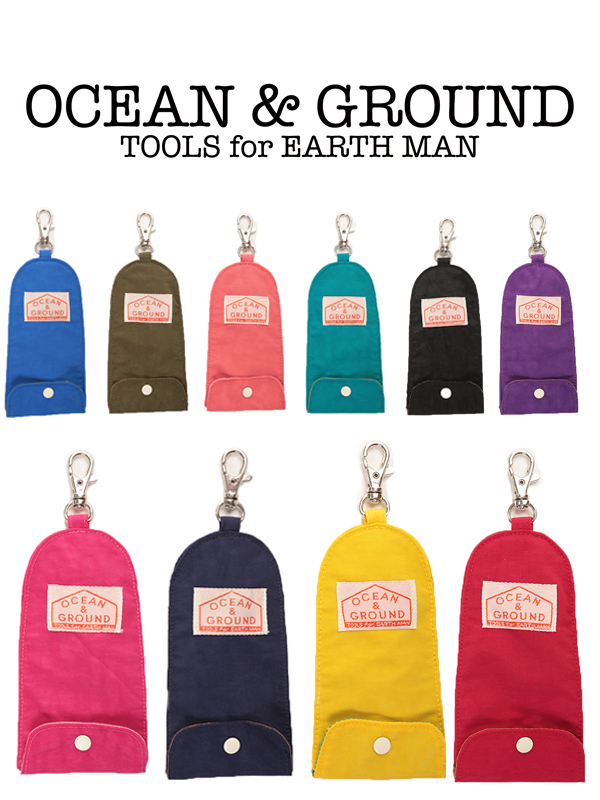 Ocean&Ground キーケース 全10色