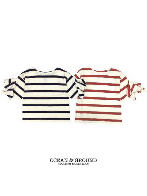 【1点までゆうパケット可】Ocean&Ground オーシャンアンドグラウンド Tシャツ