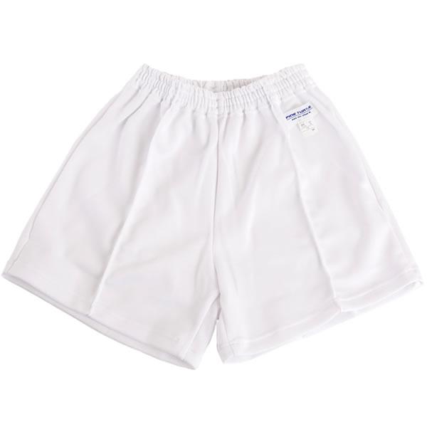 【ゆうパケットOK】 小学生制服 ニットショートパンツ A体 (白)