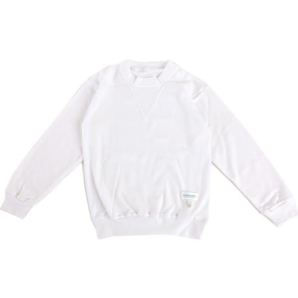 【1点までゆうパケット可】 小学生制服 ヨーク丸首トレシャツ 長袖 男女兼用 A体