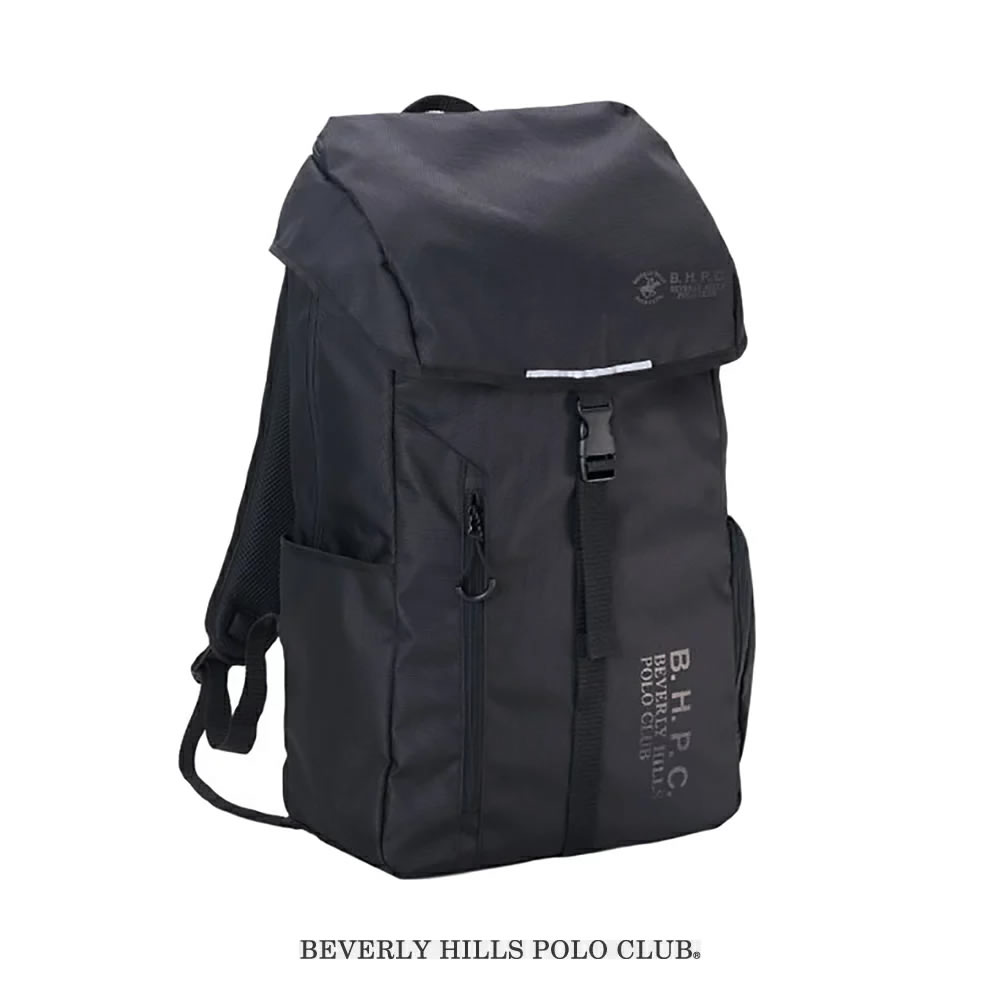BEVERLY HILLS POLO CLUB ビバリーヒルズポロクラブ スクールバッグ 通学鞄 スクエアーバッグ 男子 32L(黒)
