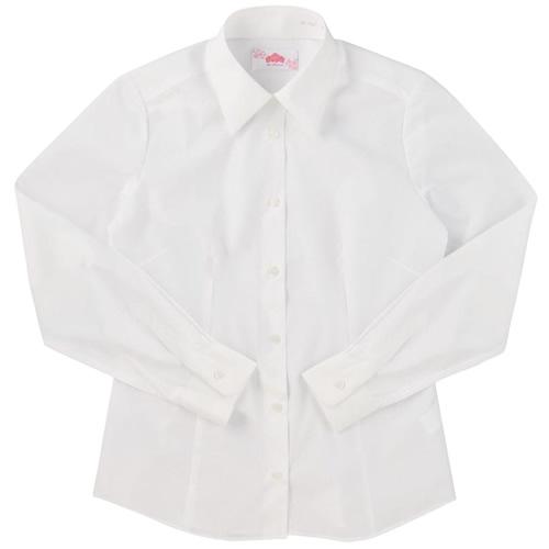 ビーステラ 長袖スクールシャツ (オフホワイト) ワイシャツ Yシャツ