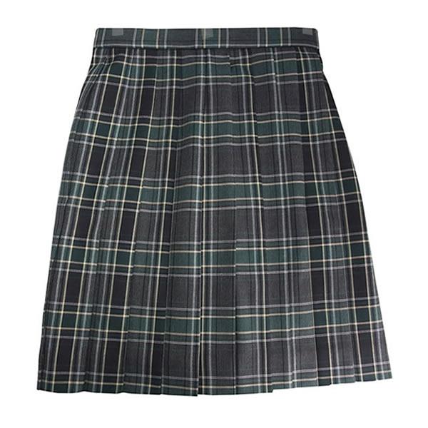 ビーステラ 制服 スカート (チャコール×グリーン・BS509)