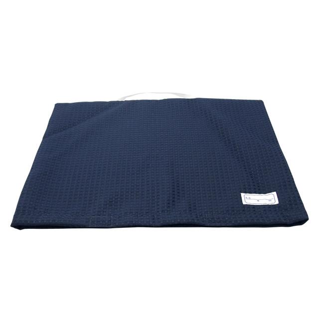 小学生・中学生兼用 防災頭巾 背もたれカバー(紺)