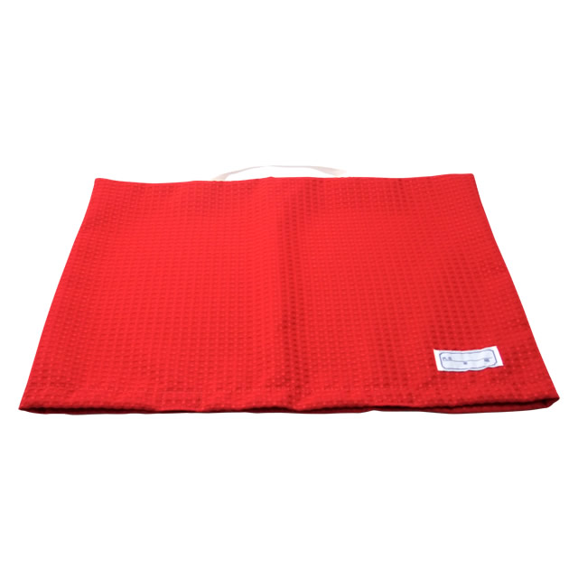 小学生・中学生兼用 防災頭巾 背もたれカバー(赤)