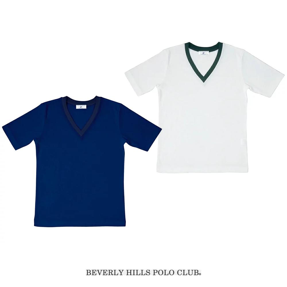 【1点までゆうパケット可】ビバリーヒルズポロクラブ セーラーズニット 半袖
