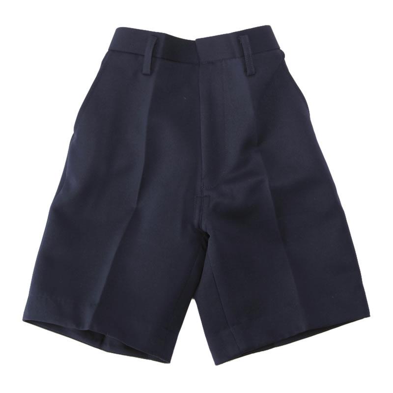 【アウトレット】小学生 制服 五分丈半ズボン 紺 B体