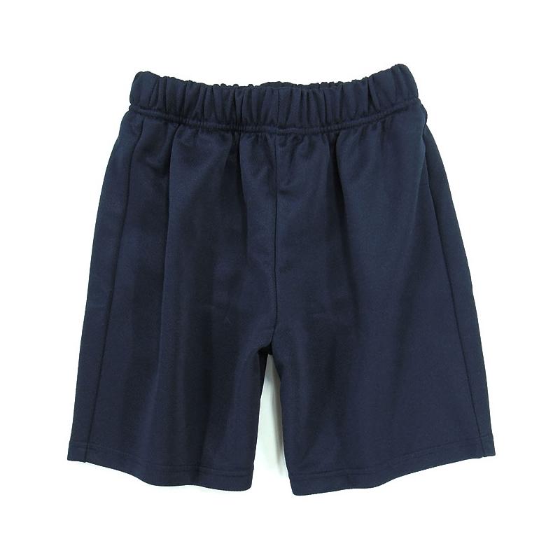 体操服 ハーフパンツ(クウォーターパンツ) 男女兼用 紺 110-170
