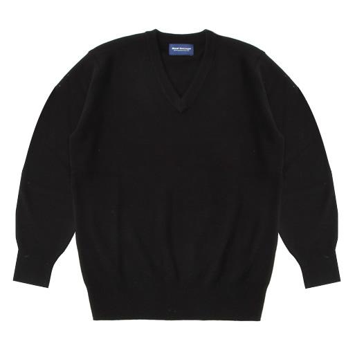 セーター アクリルウール (ブラック・ポイント無・RB907)