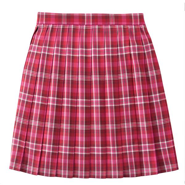 【ポイント20倍】ROCONAILS|ロコネイル  スクールスカート 女子 学生服 7号-13号(ピンク チェック)