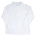 【1点までゆうパケット可】 小学生制服 鹿の子 長袖ポロシャツ