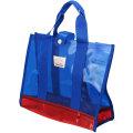 プールバッグ「Ocean&Ground オーシャン アンド グラウンド」角型(ブルー)ビーチバッグ