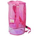 プールバッグ「Ocean&Ground オーシャン アンド グラウンド」筒型(ピンク)ビーチバッグ