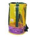 プールバッグ「Ocean&Ground オーシャン アンド グラウンド」筒型(イエロー)ビーチバッグ