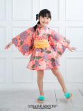 【1点までゆうパケット可】 Ocean&Ground オーシャンアンドグラウンド 浴衣ワンピース 女児 HIMAWARI&AJISAI
