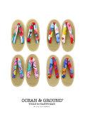OCEAN&GROUND|オーシャンアンドグラウンド 草履 サンダル 女の子 16-22cm(4色)