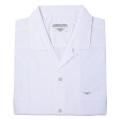 スクールシャツ 半袖 (オープン衿)