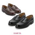 HARUTA|ハルタ メンズローファー 学生靴 24.0cm-27.5cm(黒・ブラウン)