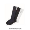 BEVERLY HILLS POLO CLUB|ビバリーヒルズポロクラブ ミニハイソックス 靴下 32cm丈(ネイビー・ブラック・ホワイト)
