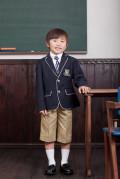 【全国送料無料】パイピングジャケット(ネイビー)フォーマル6点セット 子供フォーマル トドラー 男の子 N-Boy