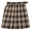 ビーステラ スクールスカート (ベージュ×ブラック・BS504)