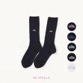 BESTELLA|ビーステラ スクールソックス 靴下 ミドル 26cm丈(5色)