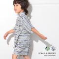 OCEAN&GROUND|オーシャンアンドグラウンド 甚平 男の子 男子 男児 浴衣 甚平スーツ JAPAN GEOMETRY 1012601