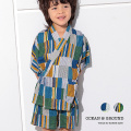 OCEAN&GROUND|オーシャンアンドグラウンド 甚平 男の子 男子 男児 浴衣 甚平スーツ HAND GRAFITY 1012602