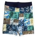 【ゆうパケットOK】 Ocean&Ground オーシャンアンドグラウンド 水着 男児 パッチワーク ブルー