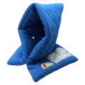 全国で初めて防炎性能基準に合格した認定品!小学生用 防災頭巾(青)