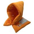 全国で初めて防炎性能基準に合格した認定品!小学生用 防災頭巾(オレンジ)【ゆうメール対応】