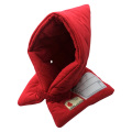 全国で初めて防炎性能基準に合格した認定品!小学生用 防災頭巾(赤)