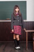 【全国送料無料】スカートスーツ(チャコールグレー)フォーマル5点セット 子供フォーマル スクール 女の子 N-Girl