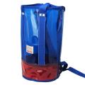 プールバッグ「Ocean&Ground オーシャン アンド グラウンド」筒型(ブルー)ビーチバッグ