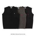 【1点までゆうパケット可】制服 ベスト ビバリーヒルズポロクラブ 男女兼用 全3色