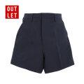 アウトレット|夏用半ズボン 3分丈 小学生 制服 A体(紺)
