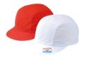 ツイル 紅白体操帽 風船型(アゴゴム付)赤白帽 紅白帽
