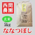 玄米ななつぼし5kg