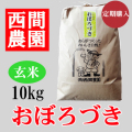 おぼろづき玄米10キロ定期配送