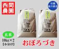おぼろづき玄米20キロ小分け取り置き