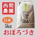 白米おぼろづき5kg
