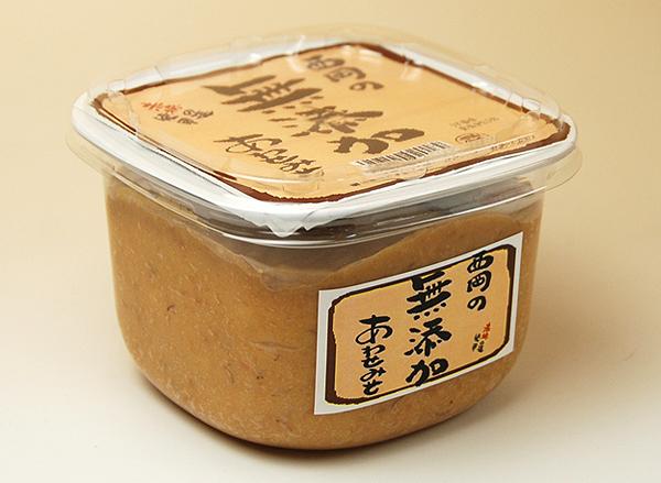 西岡の無添加合わせ味噌
