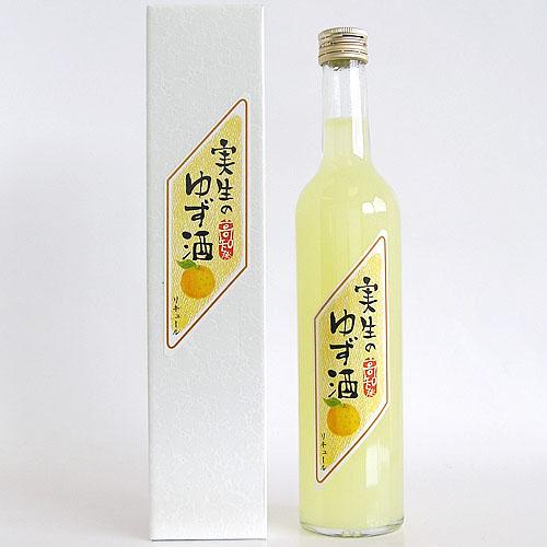 高知酒造 実生(みしょう)のゆず酒 500ml