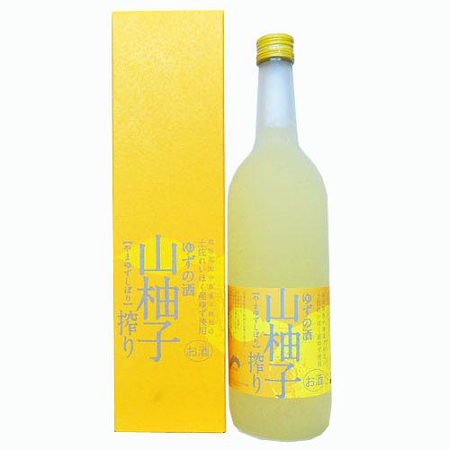 司牡丹酒造 山柚子搾りゆずの酒 720