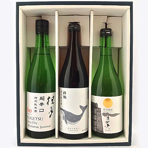 土佐の地酒 日本酒辛口BセットD 720×3本