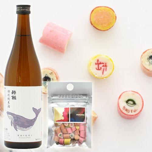 酔鯨酒造 特別純米酒720ml×PAPABUBBLE
