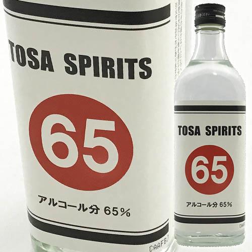 土佐鶴酒造 TOSA SPIRITS65 アルコール65度  500ml